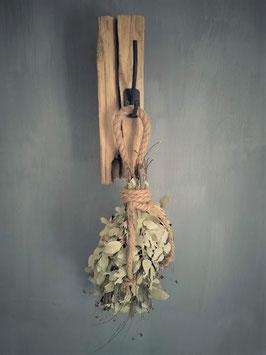 Kapstok van oud hout (06)