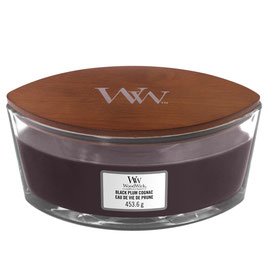 Woodwick Ellipse black plum cognac