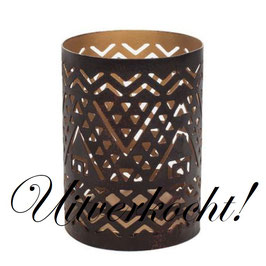 Woodwick candle holder Southwestern voor Petite candle ***uitverkocht***