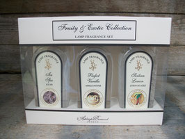 Ashleigh & Burwood pakket met 3 geurlamp vloeistoffen fruity & exotic