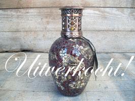 "Ashleigh & Burwood geurlamp groot ""sangria"" ***uitverkocht***"