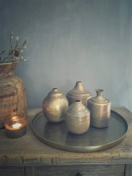 Handgemaakte potten old brass (diverse modellen)
