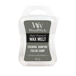Woodwick Wax melt evening bonfire