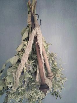 Ijzeren ophanghaakje voor Shabby doeken