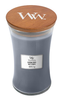 Woodwick Large candle evening onyx