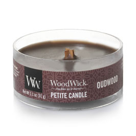 Woodwick Petite candle oudwood