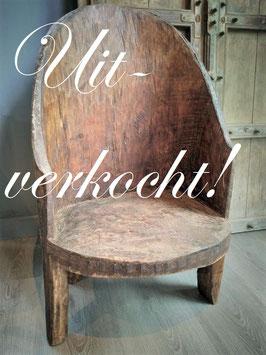 Oud Naga stoeltje uit Nagaland ***uitverkocht***