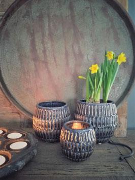 Mooie potten van keramiek in diverse afmetingen (merk PTMD)