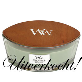 Woodwick Ellipse white willow moss ***uitverkocht***