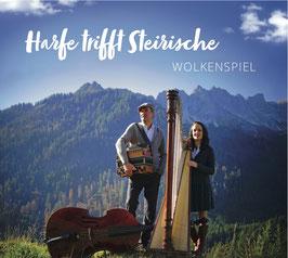 CD - Harfe trifft Steirische - Wolkenspiel