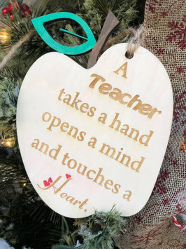 Teacher's ornament