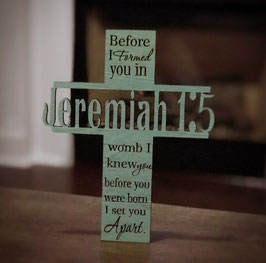 Jeremiah 1:5 Cross