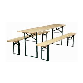 Biertafel set 1 tafel 2 banken