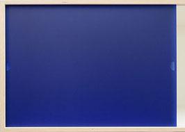 Acrylglas satiniert saphir blue