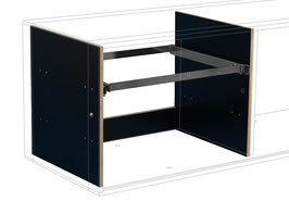 Suspension file drawer black