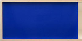 Glossy acrylic glass dark blue