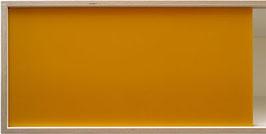 Glossy acrylic glass dark yellow