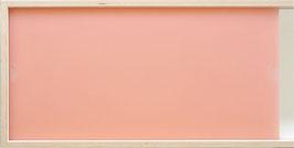 Acrylglas satiniert blush pink