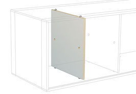 Module partition white