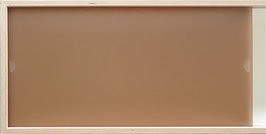 Glazed Acrylic Glass sand brown