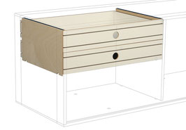 2 Small drawers top white