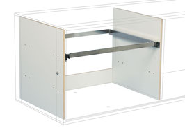 Suspension file drawer white