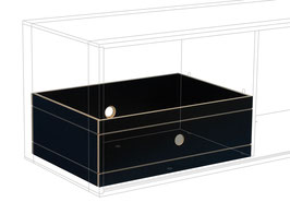 Large drawer black