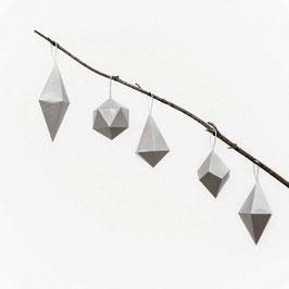 Mini-Faltbogen-Set - silber