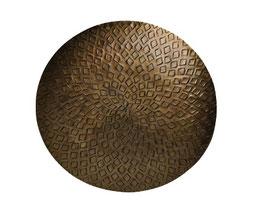 Kupfer Platte D43cm