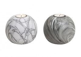 Kerzenständer Marmor - 2er Set