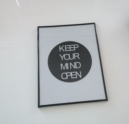 "Bild "" KEEP YOUR MIND OPEN """