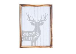 Textplatte - Merry Christmas