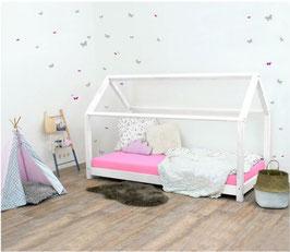 Häuschen Kinderbett Tery - weiss
