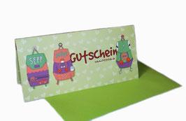 GUTSCHEIN (Karte mit Umschlag)