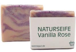 Naturseife Vanilla Rose vegan bio 70g