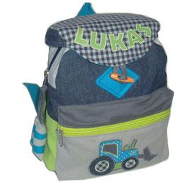 Rucksack Baustelle (Jeans) RSV 1-6