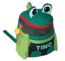 Kinderrucksack Frosch