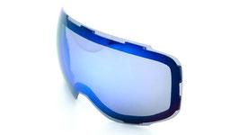 Lente Blu specchiata
