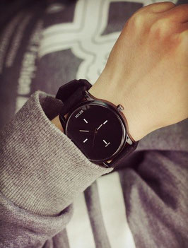 Reloj Miler black and white