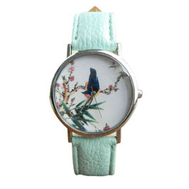 Reloj ave tropical
