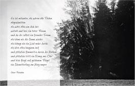 Trauerkarte Buchenwald