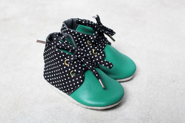 """Chaussons DERBY """" Petis pois"""""""
