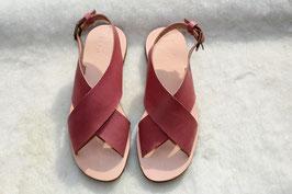 """Sandales TANJA """"vieux rose"""""""