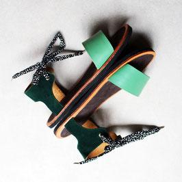 Sandales OUPS Duo de vert