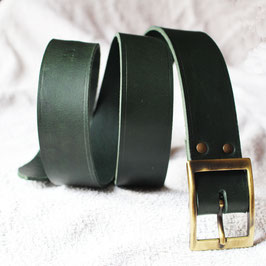 Ceinture boucle Rectangle Bronze 3,5cm