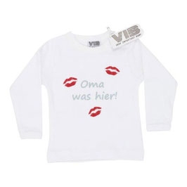 "T-shirt ""oma was hier"""