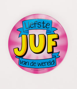 XL Button Juf/Meester