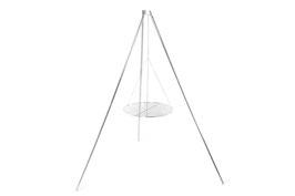 Das vielseitige Dreibein für den Grillrost, die Laterne oder den Wassersack