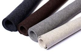 Wollfilz, 100% reine Schurwolle, das echte Naturprodukt mit