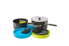 Kochset Flex 3 System - das Gourmet Kochgeschirr für unterwegs